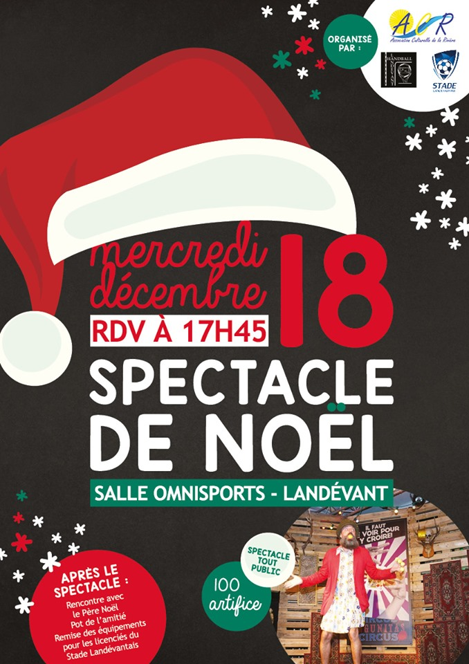 #EVENT : Le spectacle de Noel approche !