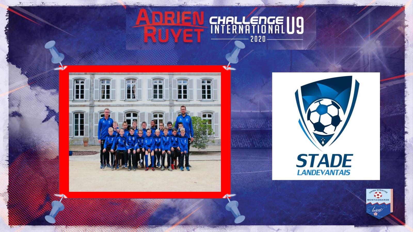 "1 & 2 Mai : nos U9 présents au Challente International ""Adrien Ruyet"" !"
